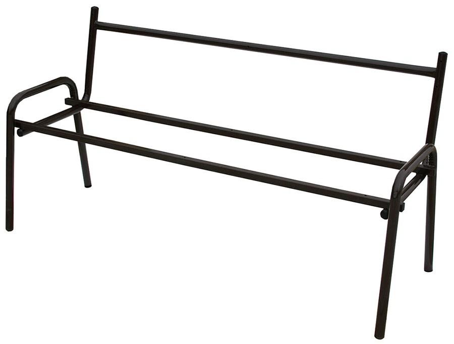 Скамейка с каркасом из металла своими руками 18